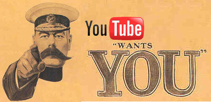 You Tube Wants You!