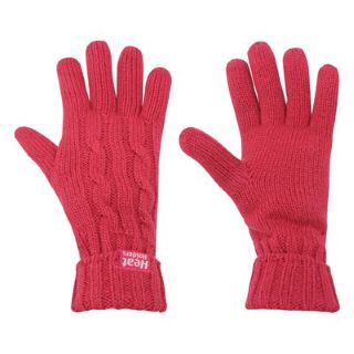 Heat Holders pink gloves
