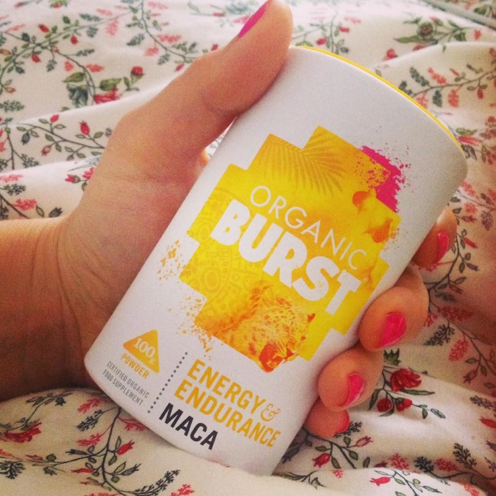 organic burst maca powder