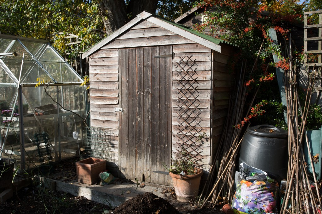 The recycled shed