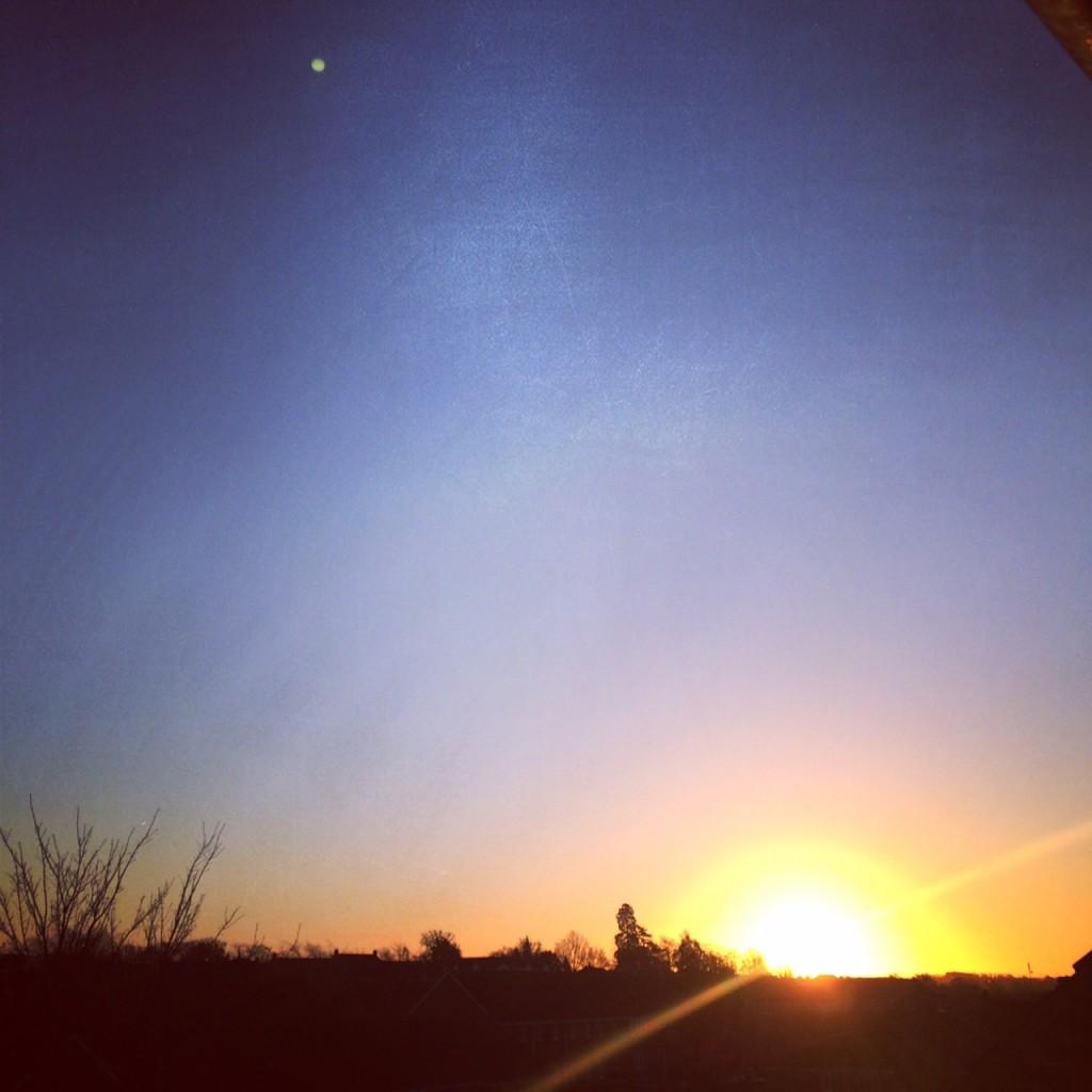 bedfordshire morning - sunrise